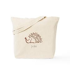 Poke, The Porcupine Tote Bag