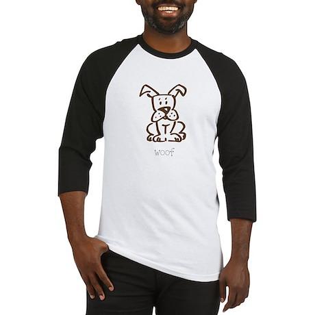 Woof, The Dog Baseball Jersey