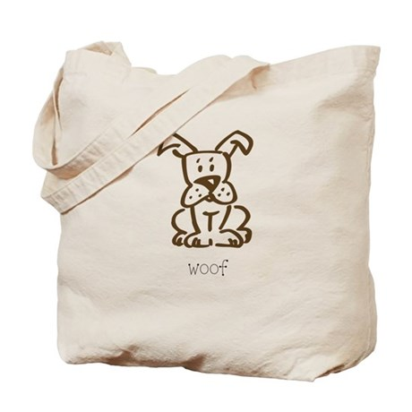 Woof, The Dog Tote Bag