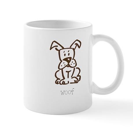 Woof, The Dog Mug