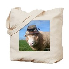 sheep in hat Tote Bag
