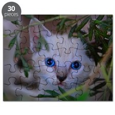 Kitten in the brush Puzzle