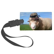 sheep in hat Luggage Tag