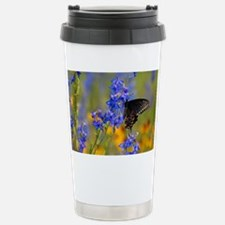 Wildflowers  Butterfly Stainless Steel Travel Mug