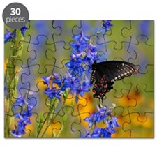 Wildflowers  Butterfly Puzzle