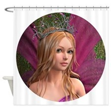 Pink Fairy Shower Curtain