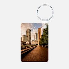 Boston Golden Hour Keychains