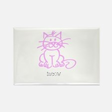 Meow, The Cat Rectangle Magnet