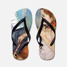 Cellist Girl Flip Flops