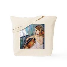 Cellist Girl Tote Bag