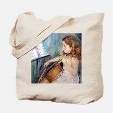 Cellist Girl Tote Bag