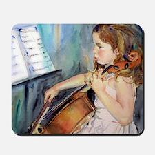 Cellist Girl Mousepad