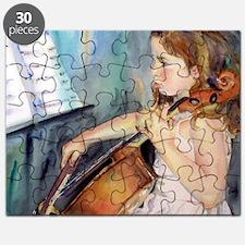 Cellist Girl Puzzle
