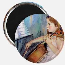Cellist Girl Magnet