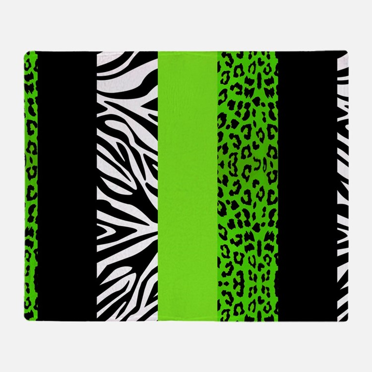 lime green throw blankets lime green fleece blankets stadium blankets cafepress. Black Bedroom Furniture Sets. Home Design Ideas