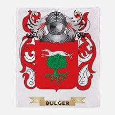 Bulger Coat of Arms Throw Blanket