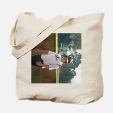 dustin 3 side Tote Bag