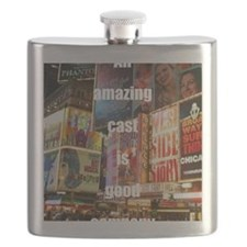 An amazing cast is good company Flask
