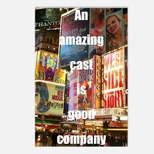An amazing cast is good c Postcards (Package of 8)