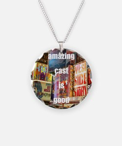 An amazing cast is good comp Necklace