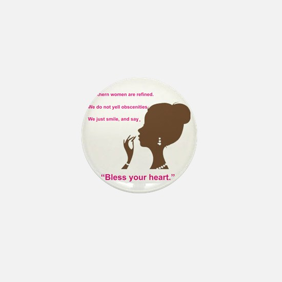 Bless Your Heart Mini Button