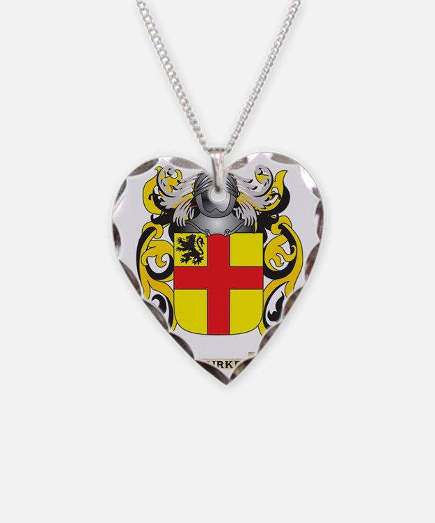 Burke Coat of Arms Necklace