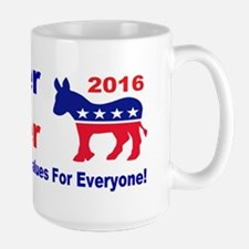 weiner holder 2016 liberal values bump Mug