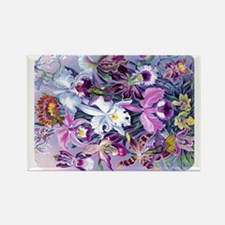 13IN H LAPTOP SLEEVE Cattleya Hum Rectangle Magnet