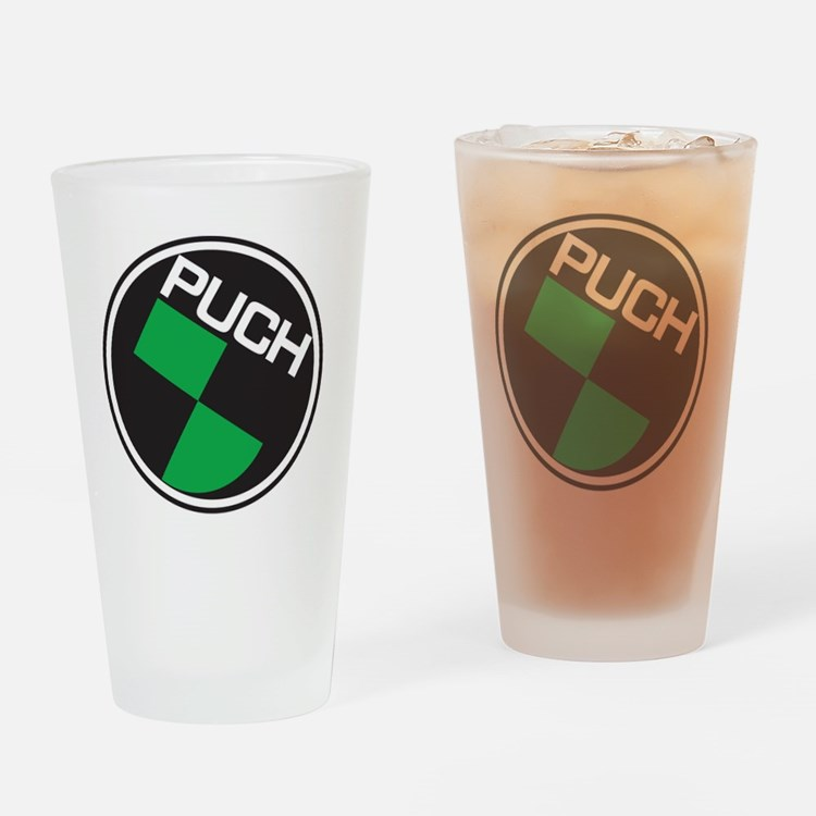 Puch Tee Drinking Glass