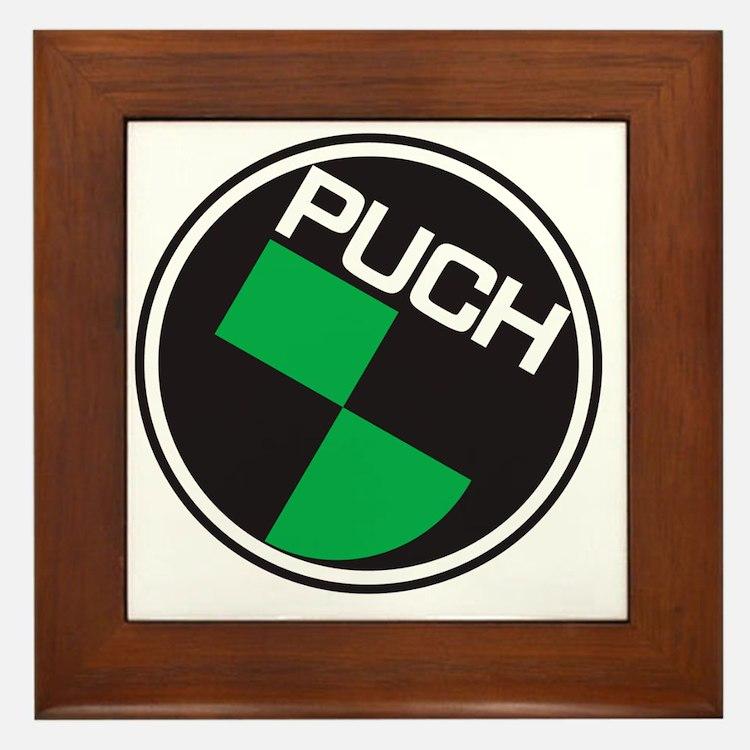 Puch Tee Framed Tile
