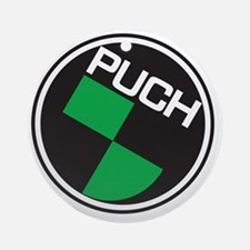 Puch Tee Round Ornament