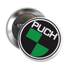 "Puch Tee 2.25"" Button"
