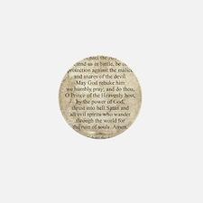 Saint Michael the Archangel Mini Button