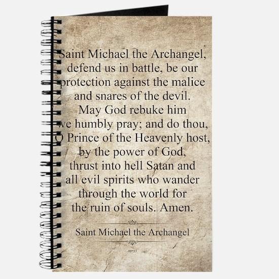 Saint Michael the Archangel Journal