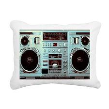 Boom Box Fun Rectangular Canvas Pillow