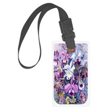 5 Tough Case Cattleya Hummingbir Luggage Tag