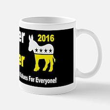 weiner holder 2016 liberal values b but Mug
