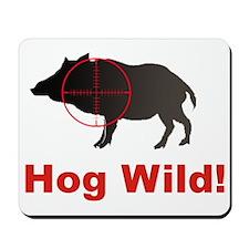 Hog Wild Mousepad