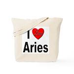 I Love Aries Tote Bag