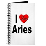 I Love Aries Journal