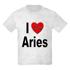 I Love Aries T-Shirt