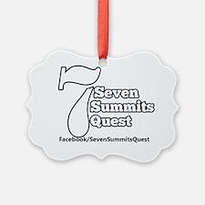 Seven Summits Quest Logo Ornament