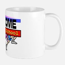 Back to School Running Feet Mug