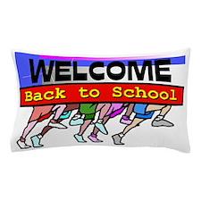 Back to School Running Feet Pillow Case
