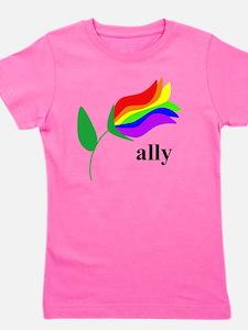 ally flower Girl's Tee