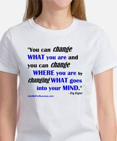 You Can Change What You Are... quo Tee