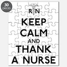 Keep Calm And Thank A Nurse Puzzle