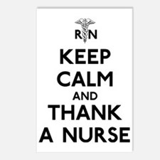 Keep Calm And Thank A Nur Postcards (Package of 8)