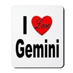 I Love Gemini Mousepad