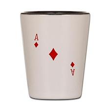 Ace of Diamonds Shot Glass
